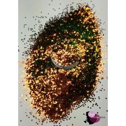 Brown' Green Glitter 1mm