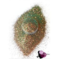 Brown' Green Fine Glitter 0.4mm