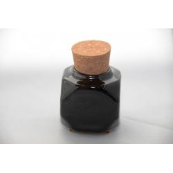 Godet Céramique bouchon liège Noir