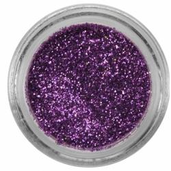 Poudre de paillettes violet iridescent