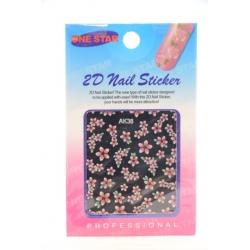 Stickers Fleurs Colorés n°3