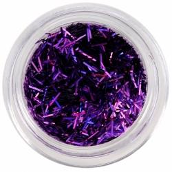 Fils de paillettes violets