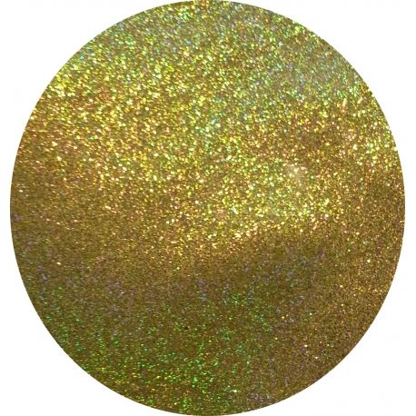 "GLITTER HOLO EFFECT ""GOLD PALE"""